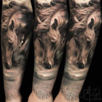 Desert Horse Tattoo