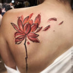 Lotus Flower back