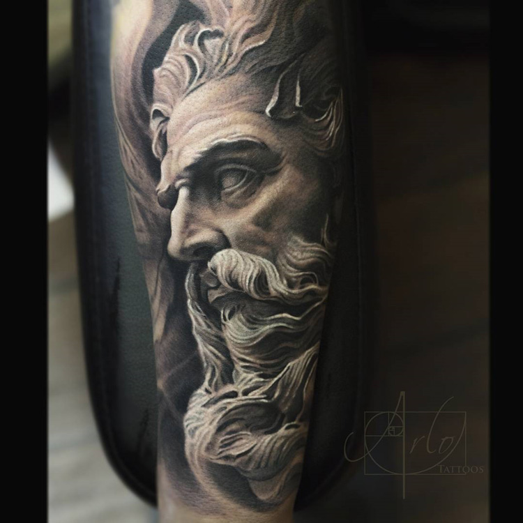Neptune God Sleeve