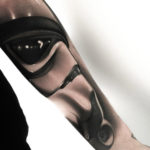 Stormtrooper Arm Tattoo