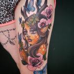 Faun Girl Tattoo
