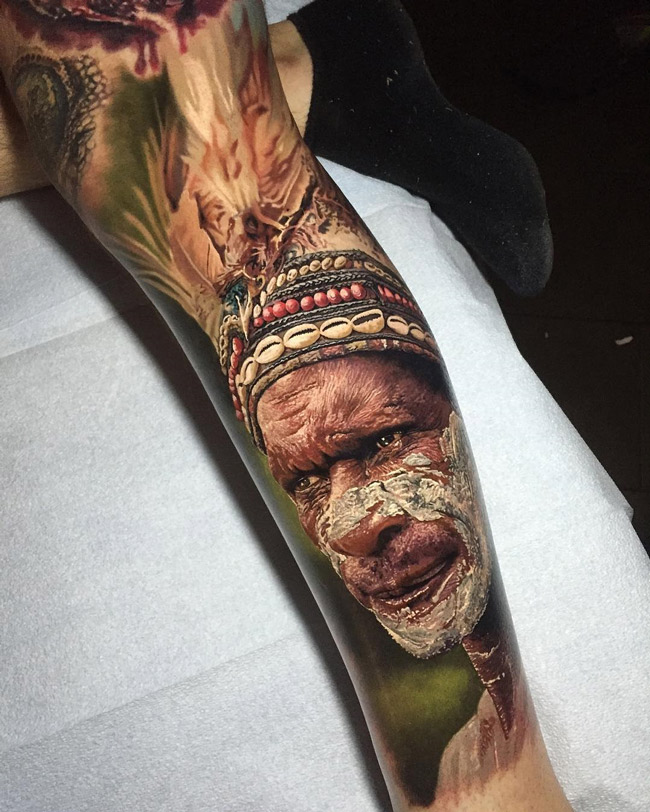 Jungle Man Leg Sleeve