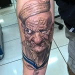 popeye tattoo