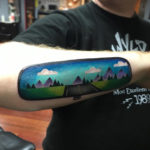 Rear View Mirror Tattoo