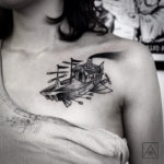 Flying Ship Tatt