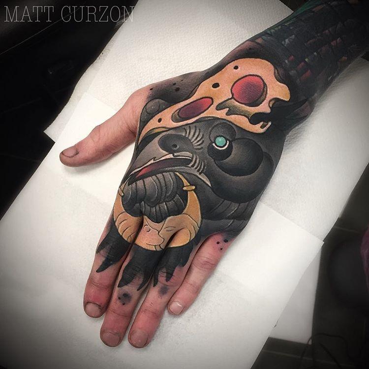 Norse Mythology Hand
