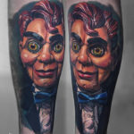Slappy the Dummy Tattoo