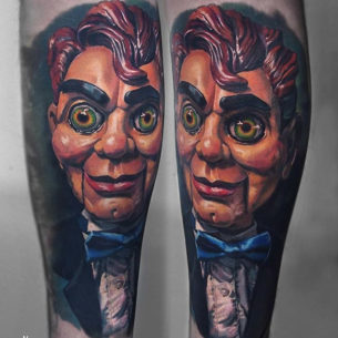 Slappy the Dummy from Goosebumps