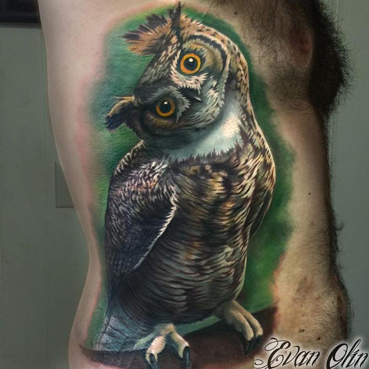 Owl Side Piece
