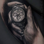 Rolex Daytona tattoo