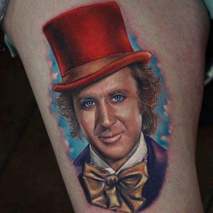 Gene Wilder Tattoo