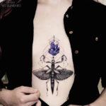 Amethyst & mantis girls tattoo