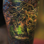 Magical Tree Tattoo