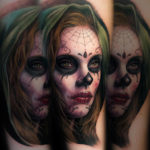 Day of the Dead Girls Portrait