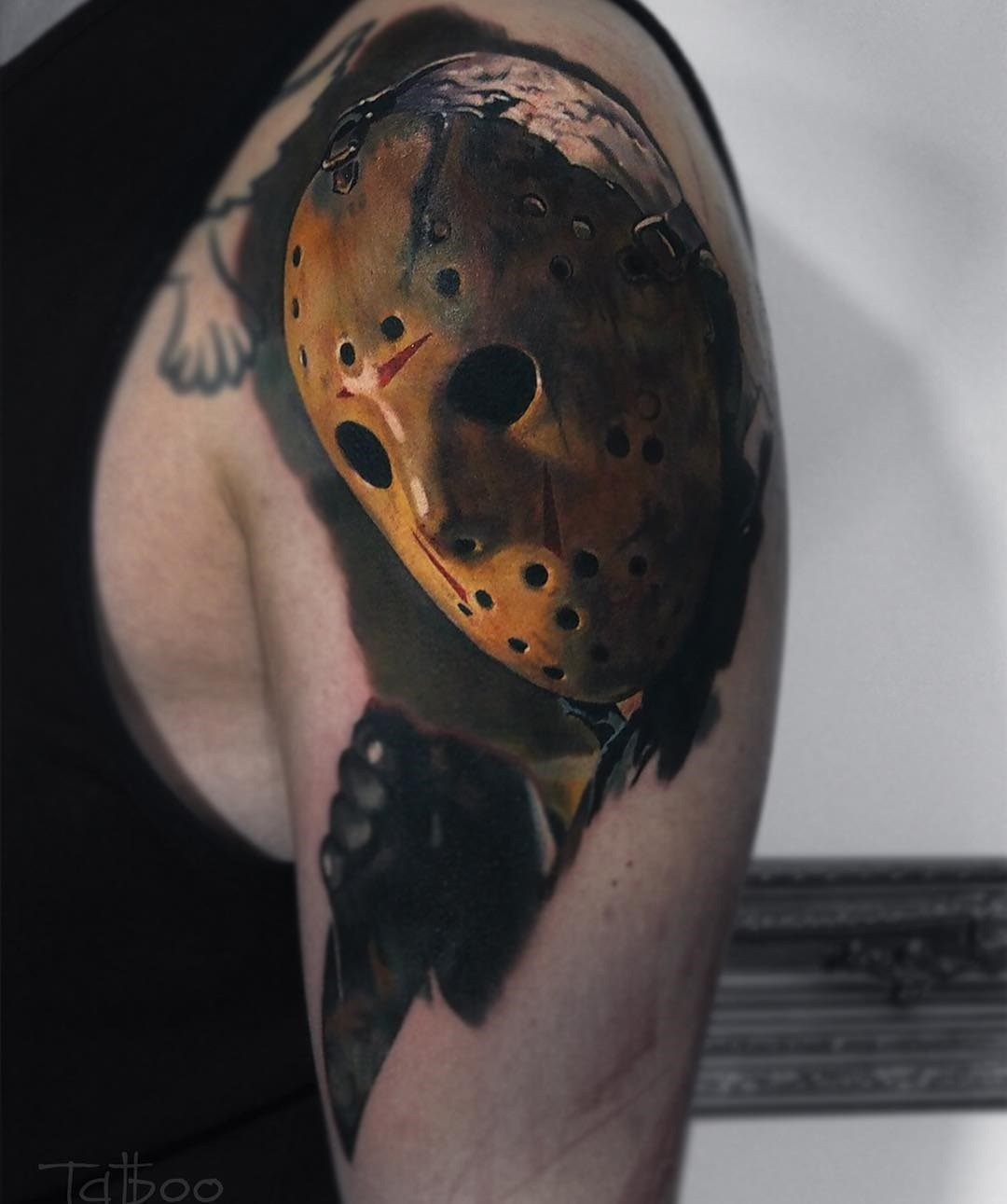 Jason Voorhees Mens Arm Piece | Best tattoo ideas & designs