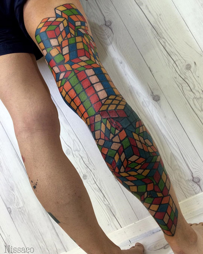 Tattoo Designs On Leg: Best Tattoo Design Ideas
