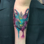 Lotus Flower Girls Arm