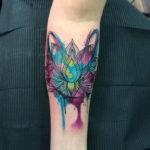 Lotus Flower Girls Arm