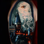 Harry Potter Half Sleeve