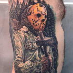 Jason Voorhees Side Tattoo