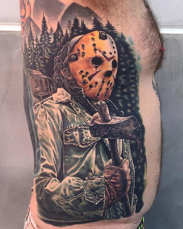Jason Voorhees Bloody Axe