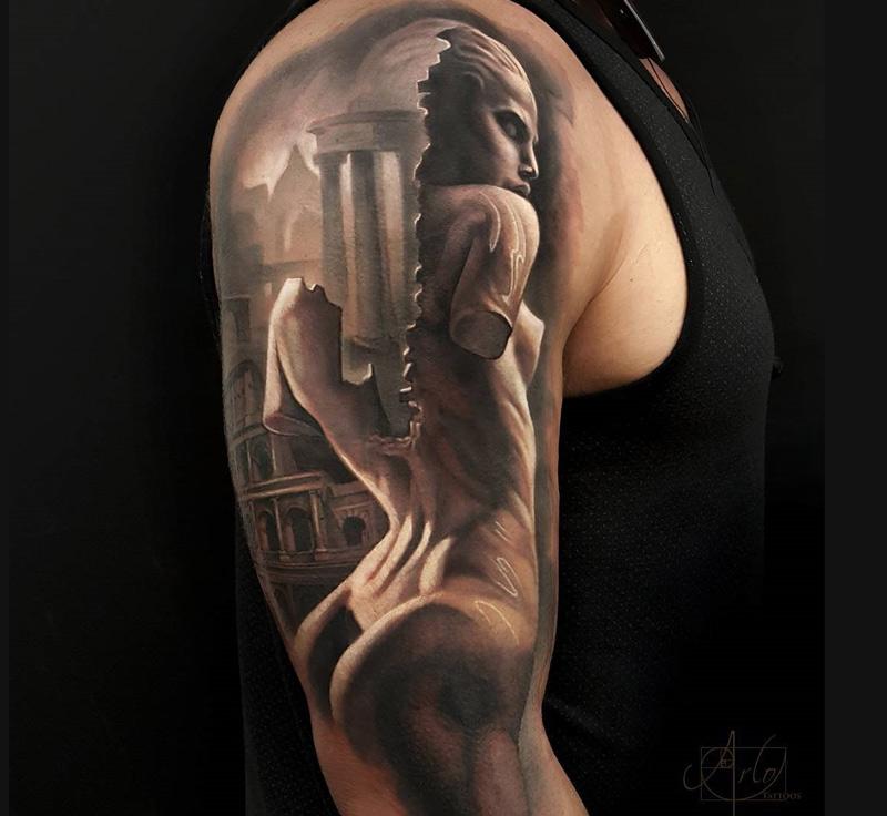 Roman Statue Morph