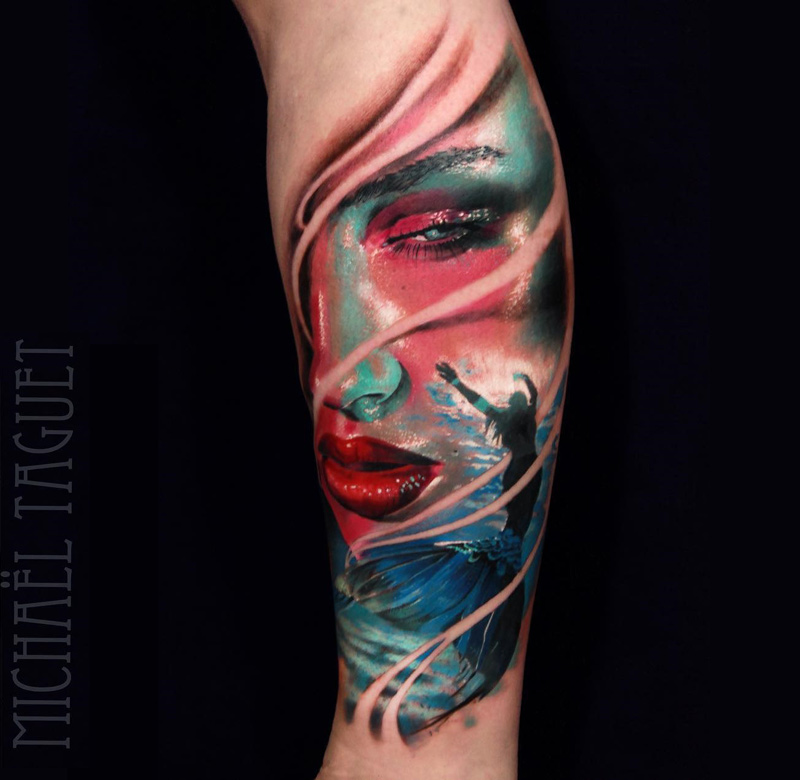 Mermaid on Forearm
