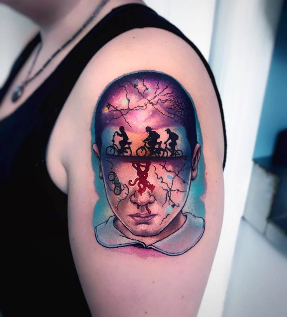 Stranger Things Tattoo
