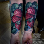 Strawberries Tattoo
