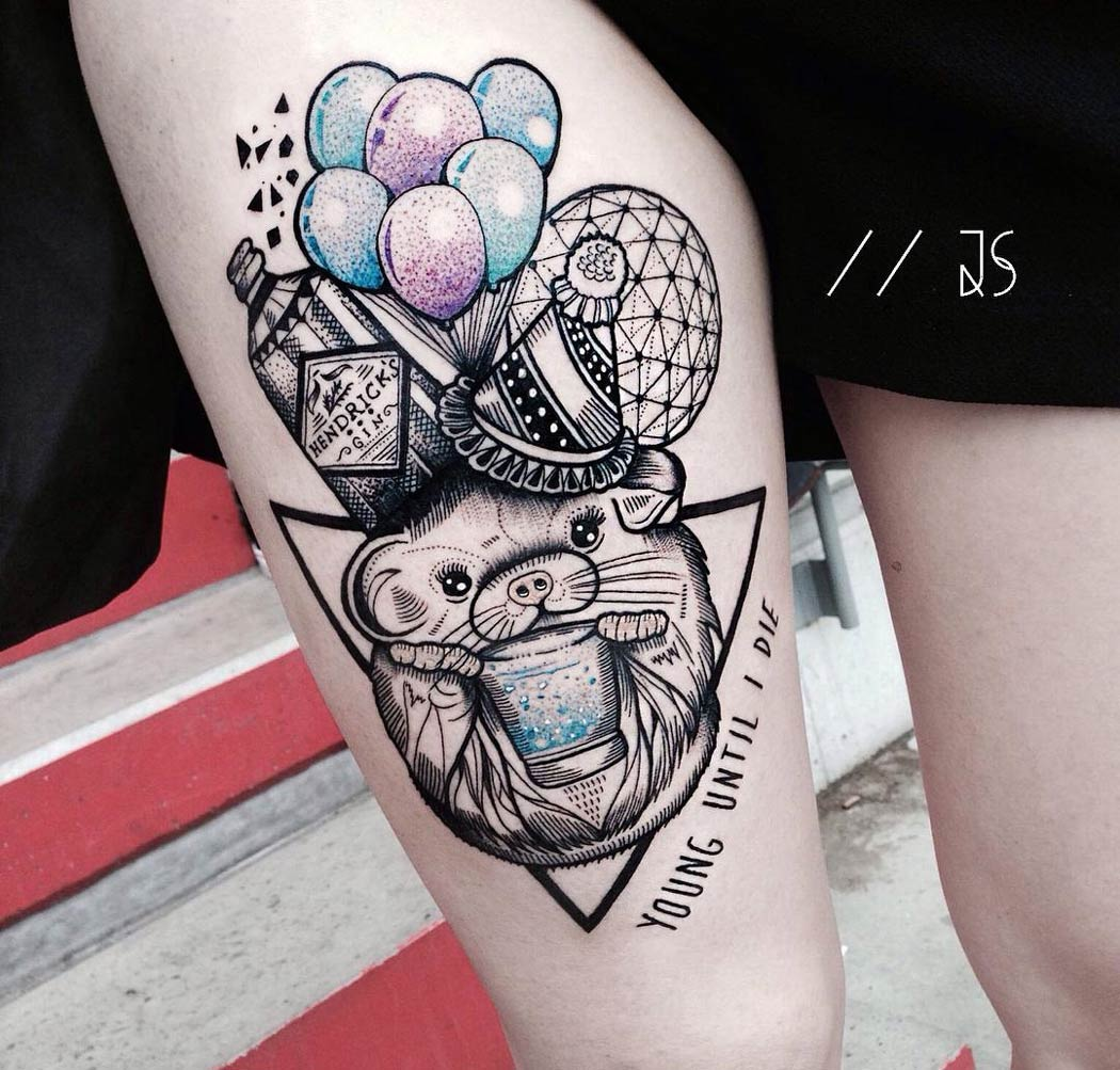 Young until i die party tattoo best tattoo ideas designs for Tattoo party ideas