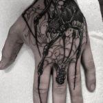 Hand Spider Tattoo