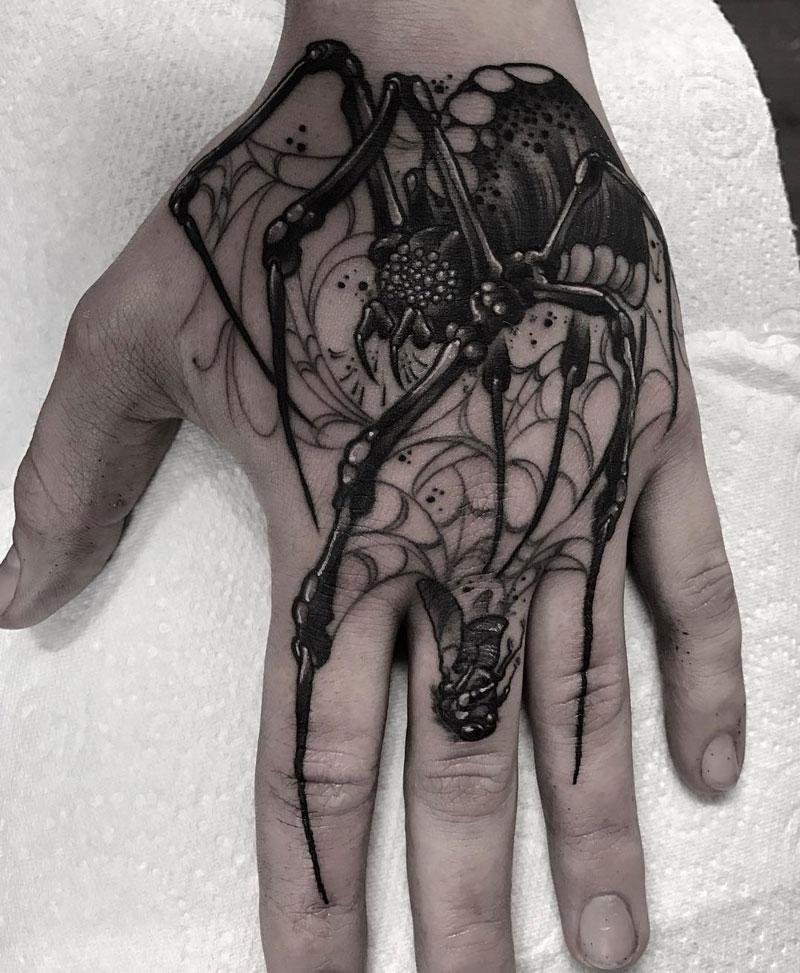 Hand Spider Fly Finger