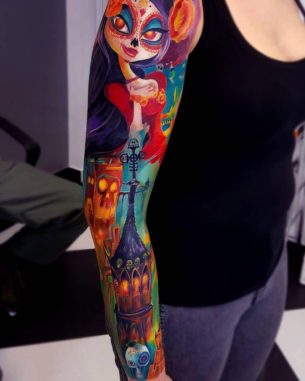 Book Of Life Sleeve