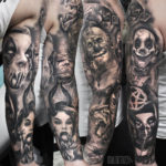 Horror Sleeve