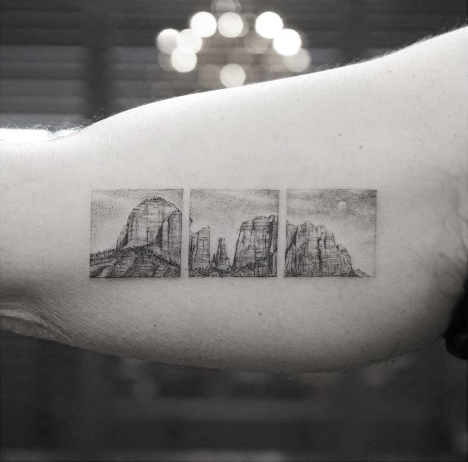 Cathedral Rock Tattoo
