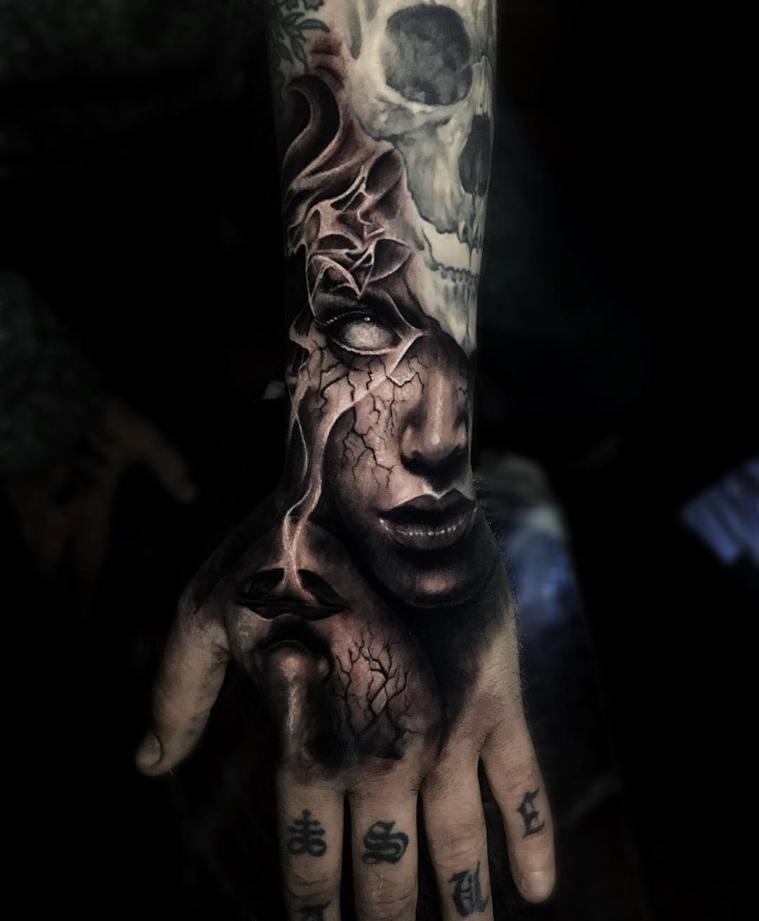 Dark Hand Piece