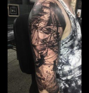 Pirate Raid Sleeve