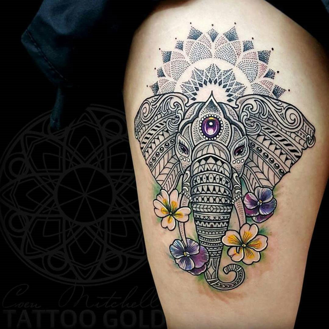 15+ [ Best Tattoo Artist In Florida ] | Mosaic Elephant ...