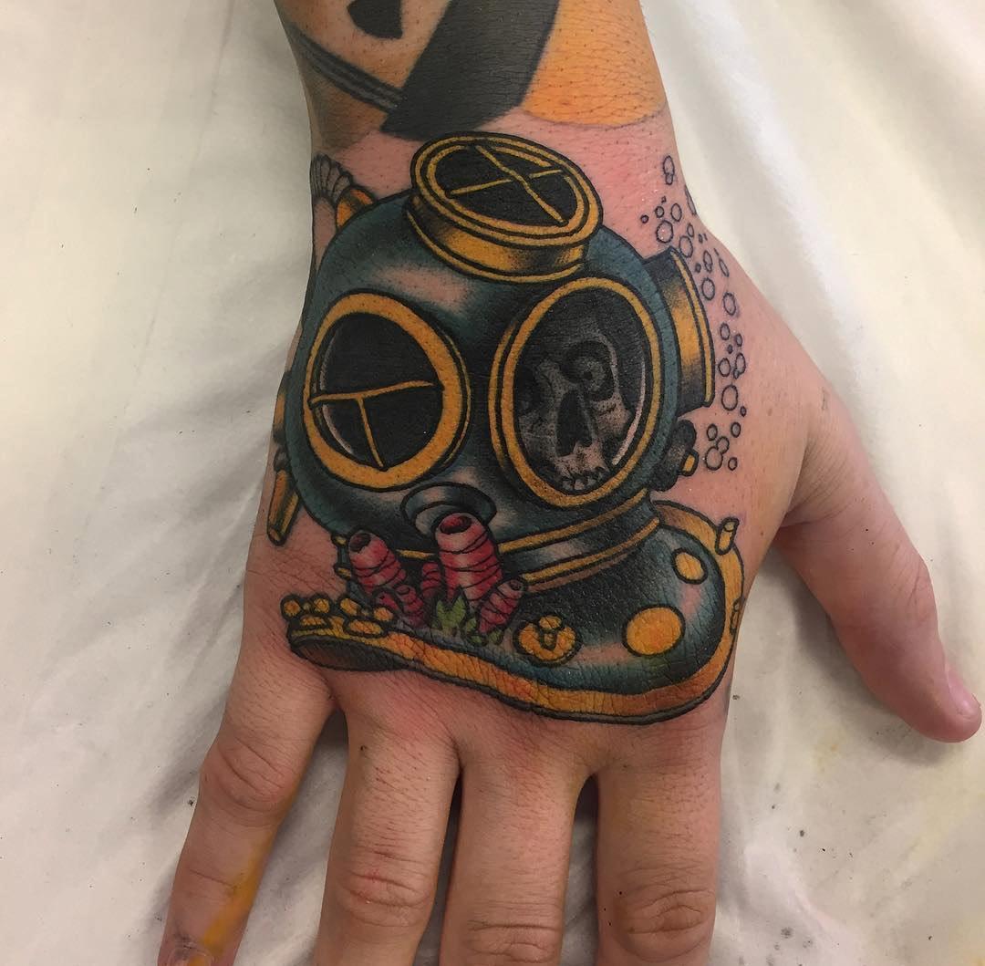 Hard Hat Tattoo Designs