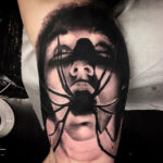 Spider Mouth Tattoo