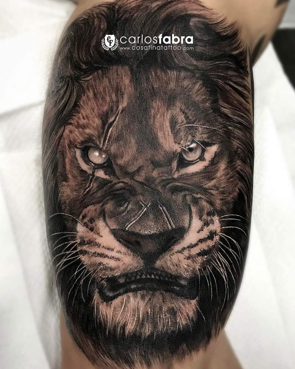 gorilla sleeve tattoo