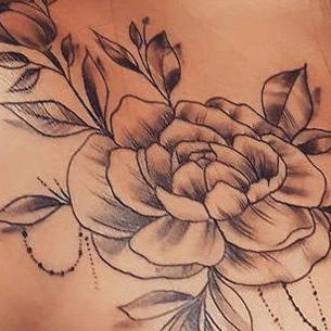 Ornamental Floral Piece