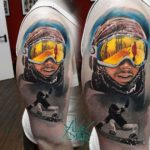 Snowboarding Tattoo