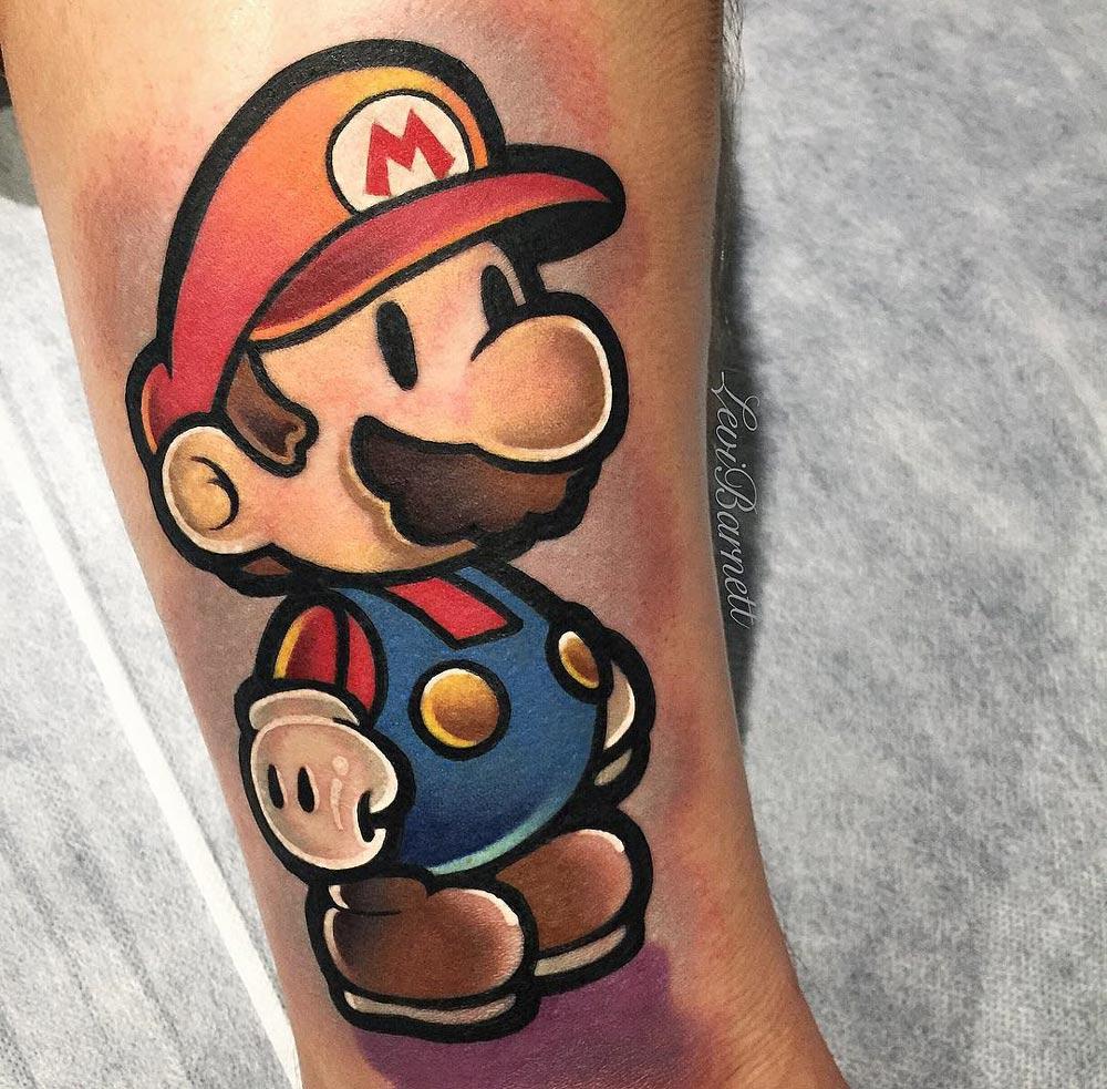 e7780f084 Super Mario   Best tattoo design ideas