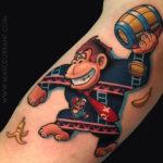 Donkey Kong Tattoo
