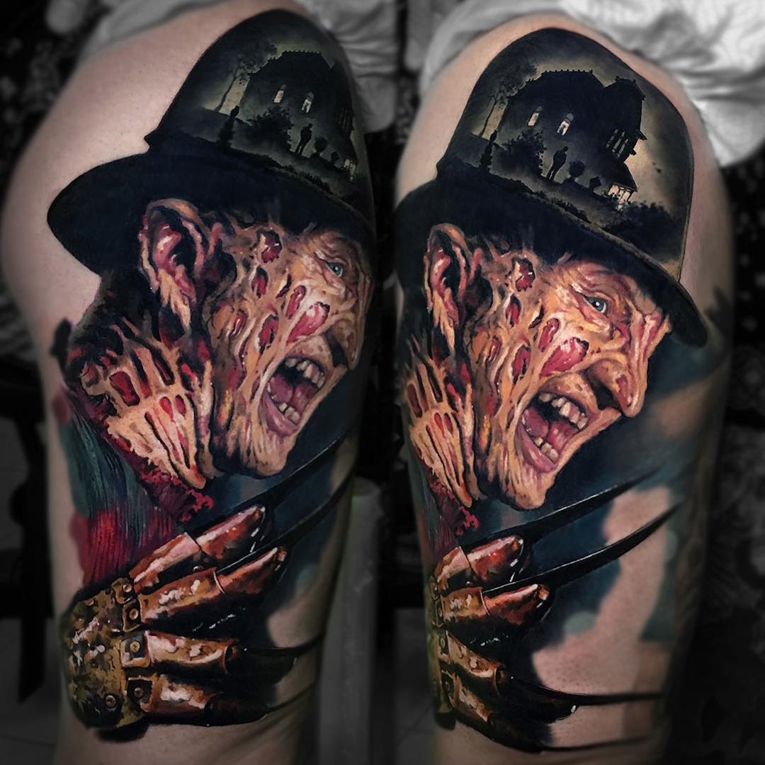 Freddy krueger tattoo best tattoo design ideas for Tattoo nightmares shop website
