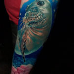 Cute Seal Tattoo