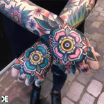 Traditional Floral Hands