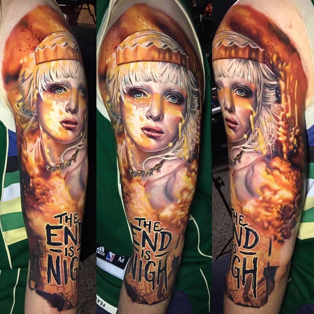Four Horsewomen of the Apocalypse | Best tattoo design ideas