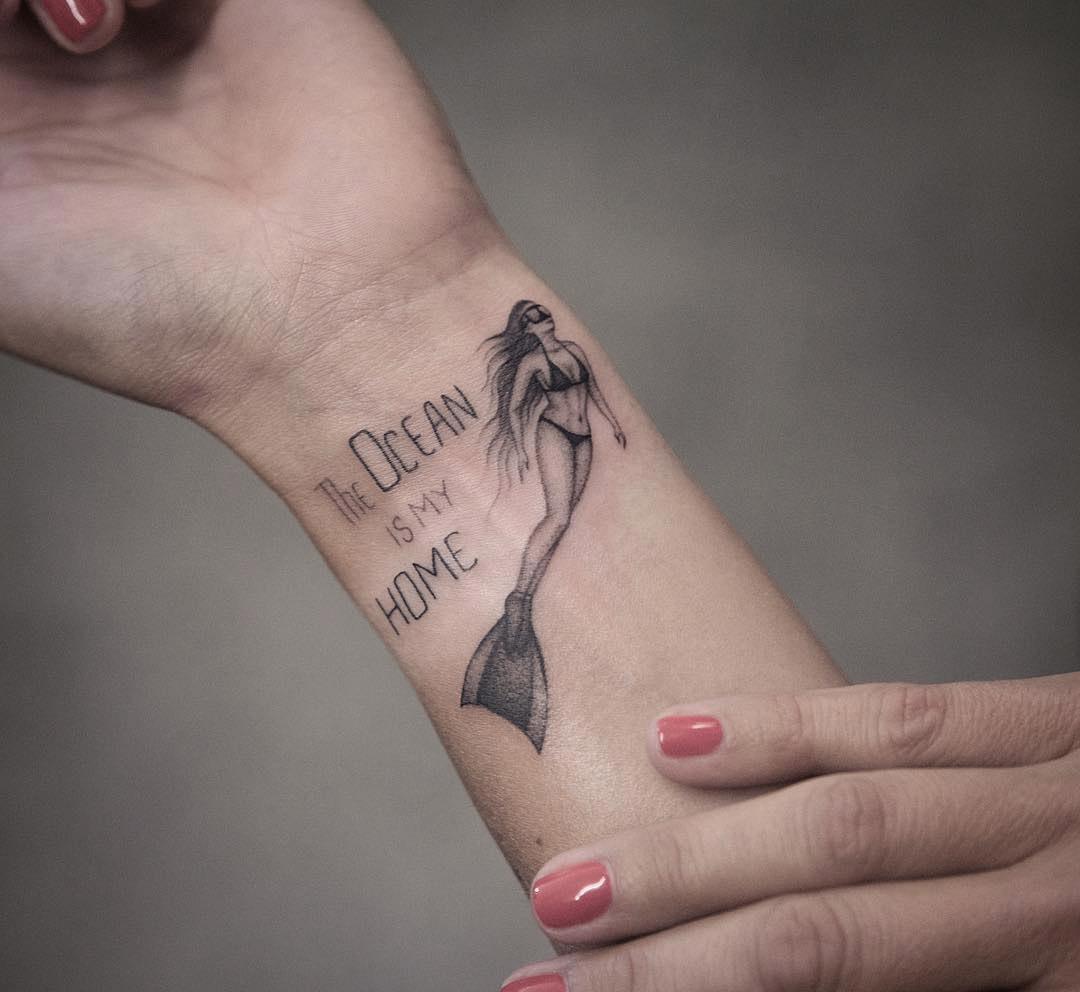 Freediver Tattoo